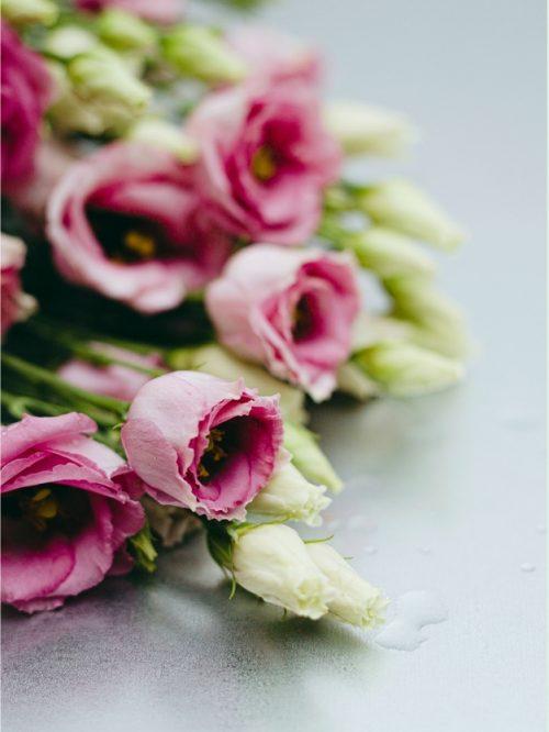 Flores Lycianthus rosas bonitas envió a domicilio