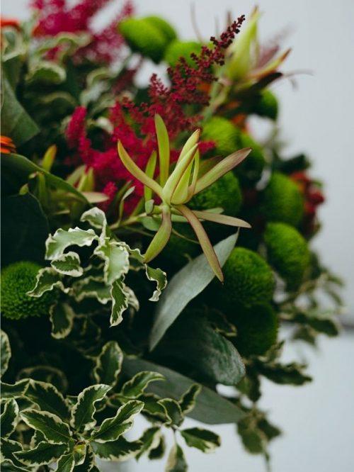 Detalles ramo flores variadas